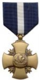 Navy Cross Medal Medal - Large for Coast Guard Service