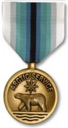 Coast Guard Arctic Service Medal - Large