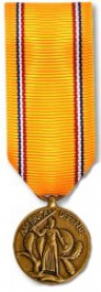 American Defense Service Medal - Mini