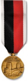 Army of Occupation Medal - Mini