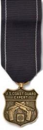 Coast Guard Pistol Expert Medal - Mini