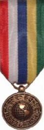 Inter-American Defense Board Medal Medal - Mini for Coast Guard Service