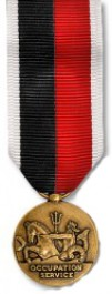 Navy Occupation Medal - Mini