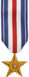 Silver Star Medal - Mini