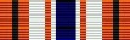 D.O.T. Meritorious Service (silver) Ribbon for Coast Guard Service