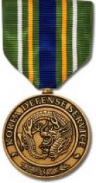 Korea Defense Service Medal - Large