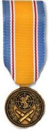 ROK War Service Medal - Miniature