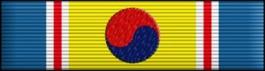 ROK War Service Thin Ribbon