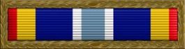 Air Force Expeditionary Thin Ribbon w/ Combat Device
