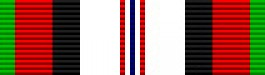 Afghanistan Campaign Thin Ribbon