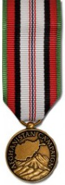 Afghanistan Campaign Medal - Mini