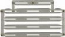 Ribbon Bar (14) - with 1/8 inch space, Clear