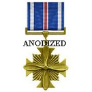 Distinguished Flying Cross Medal - Large Anodized