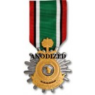 Kuwait Liberation Medal - Saudi - Large Anodized