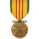 Vietnam Service Medal - Large Anodized